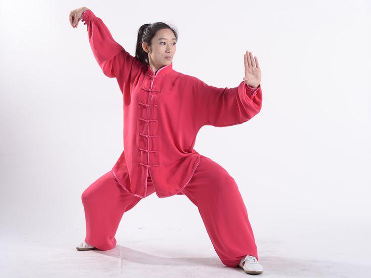 Tai Chi has prolong the life function. http://www.icnbuys.com/tai-chi-clothing-uniform-woman-summer-maroon.html