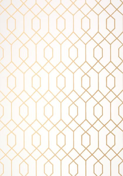 Thibaut- Graphic Resource- La Farge in Metallic Gold…