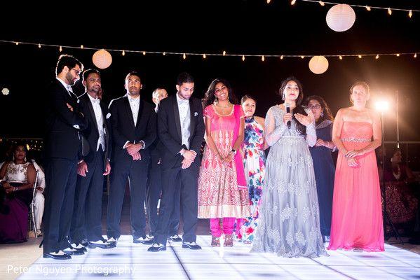 Indian bridesmaids and groomsmen speech capture http://www.maharaniweddings.com/gallery/photo/128774