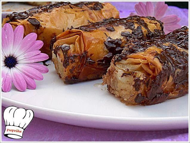 ΜΠΑΝΑΝΟΦΛΟΓΕΡΕΣ ΣΙΡΟΠΙΑΣΤΕΣ!!! | Νόστιμες Συνταγές της Γωγώς