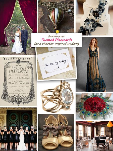 Theatre Wedding Inspiration Board I Love The Dress And Curtains Outside