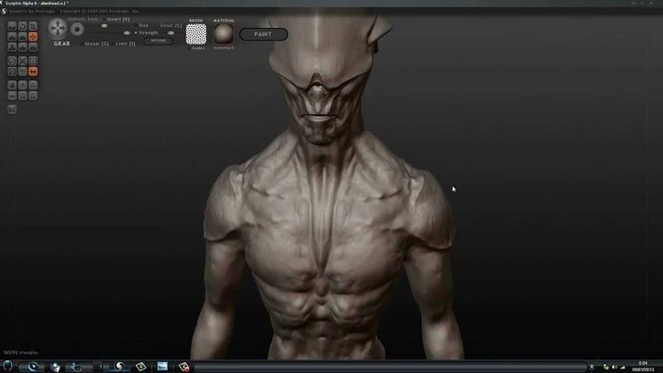 Sculting with Sculptris