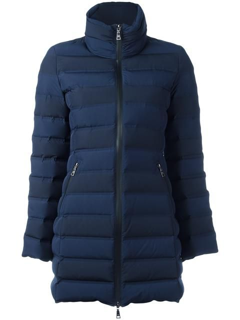 EMPORIO ARMANI zipped padded coat. #emporioarmani #cloth #coat