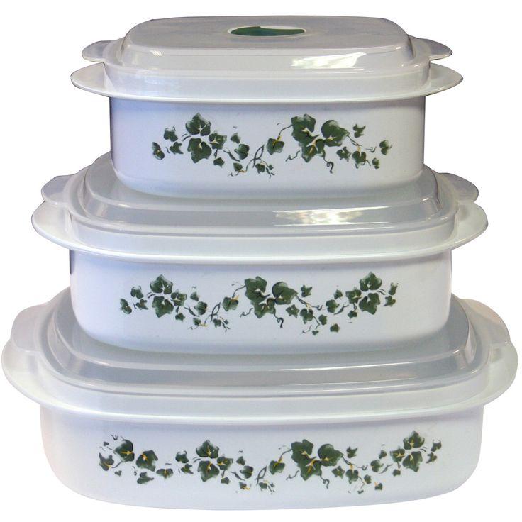 Impressions Callaway 3 Piece Microwave Cookware & Storage Set