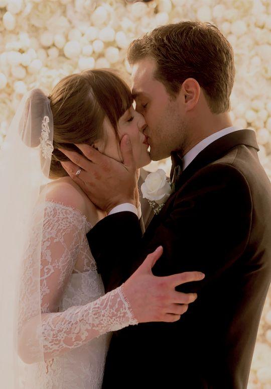 Anastasia Steele and Christian Grey