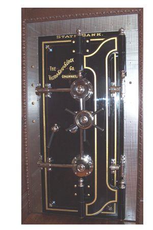 antique vault door