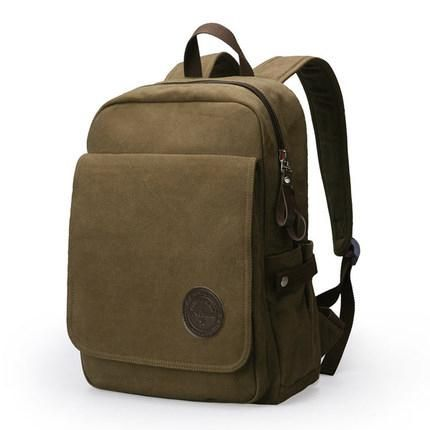 Muzee Canvas Laptop Backpack