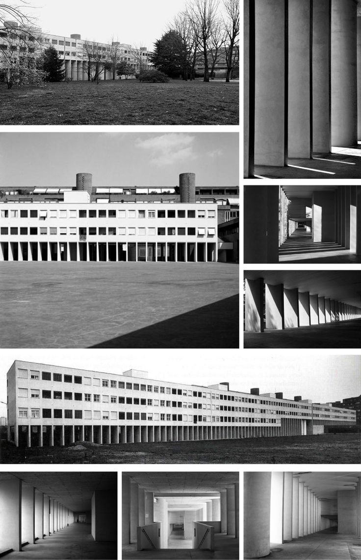 Aldo Rossi | Vivivendas Gallaratese | Milán, Italia | 1960