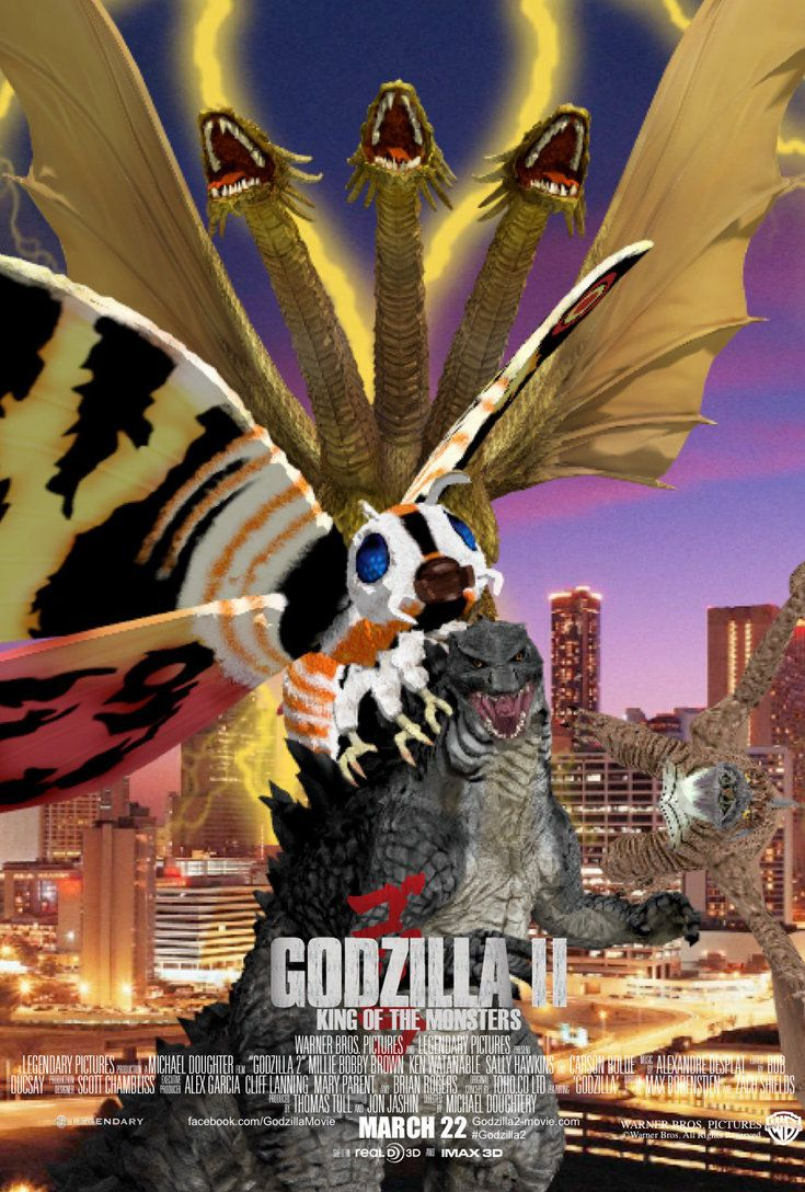Godzilla 2: King of the Monsters Poster (F-M) by SP-Goji-Fan