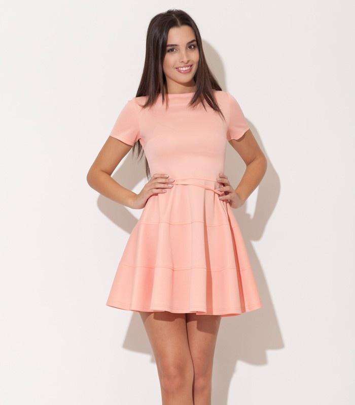 Katrus peach dress