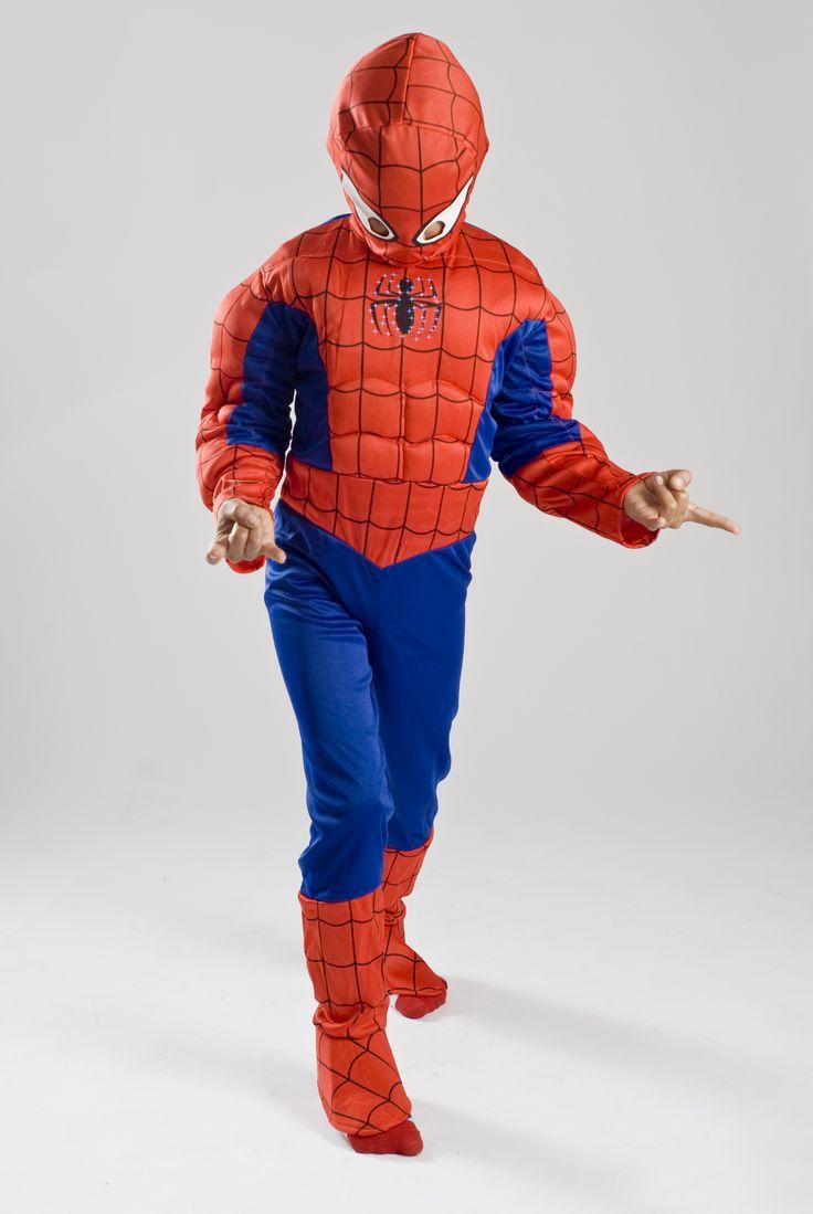 spiderman halloween costume muscle and light blast gifts - Ebaycom Halloween Costumes