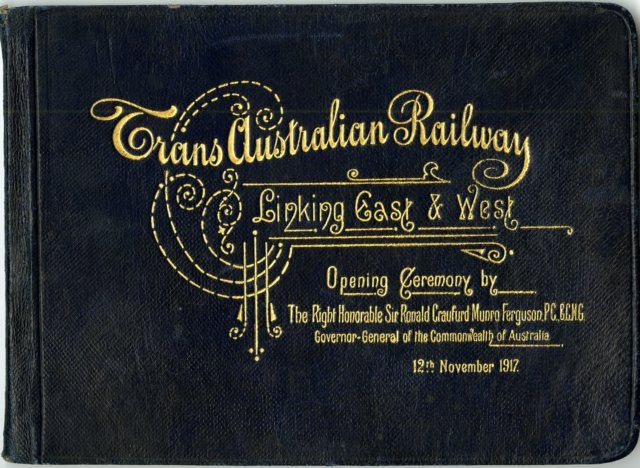 During negotiations leading up to Federation, an undertaking was made to Western Australians that a transcontinental railway would be federally-funded to link them to the Eastern states. Construction began from Port Augusta in South Australia in 1912 and also from Kalgoorlie in the west. The line was opened in 1917.