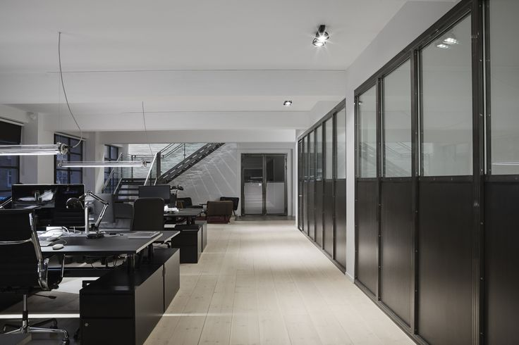Blackwood Office, Copenhagen. Architect: 	Inhouse. Lighting Design: Møller and Rothe. Products: Sammode