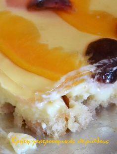 Γλυκό ψυγείου με φρυγανιές, σπιτική κομπόστα και άνθος αραβοσίτου (και σε νηστίσιμη εκδοχή) (video) - Κρήτη: Γαστρονομικός Περίπλους