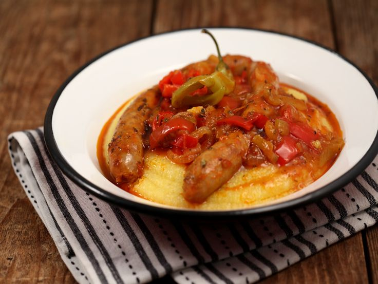 Carnati+in+sos+de+ardei+si+ceapa