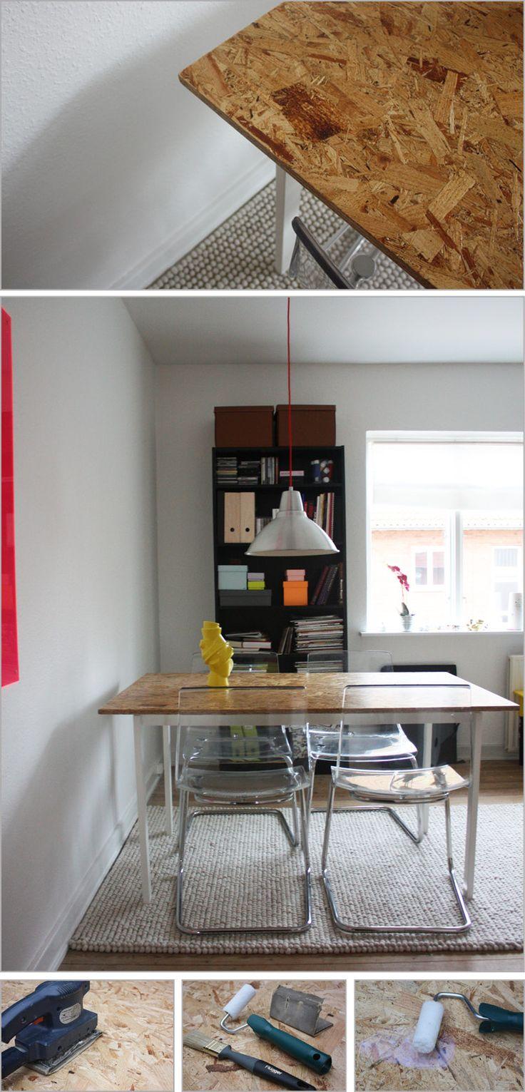 DIY OSB BORDPLADE I FORENING MED IKEA - | ouha.dk/blog
