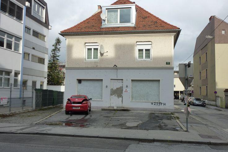 """In der """"alten"""" Wiener Straße 52, nördlich des Lendplatzes."""