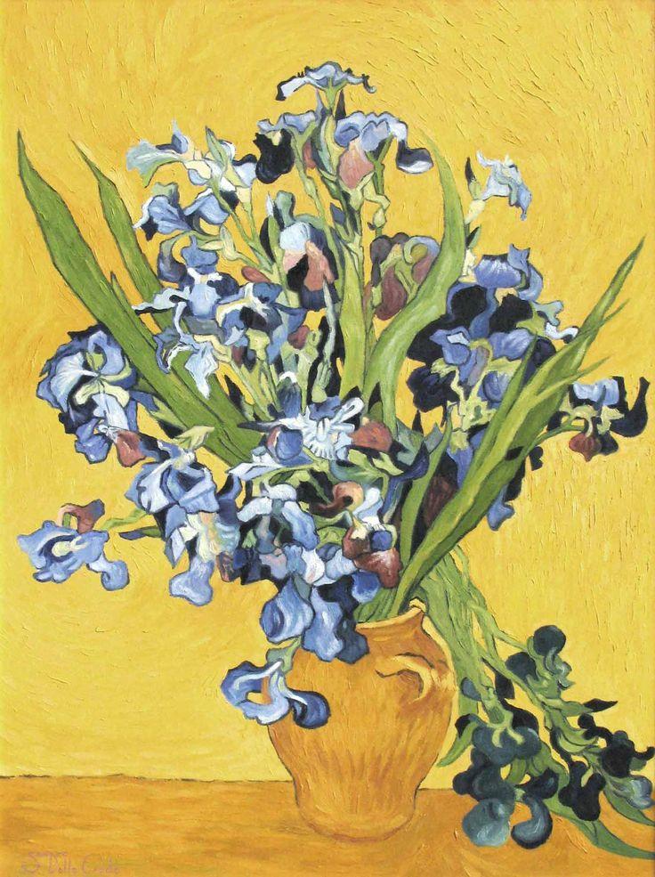 17 best images about van gogh sunflowers on pinterest for Van gogh irises