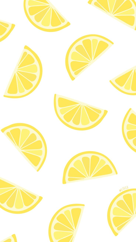 Lemon love iPhone backgrounds I summer phone screensavers