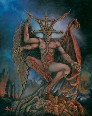 images of satan and demons | Lucifer / Satan / Léviathan / Belial