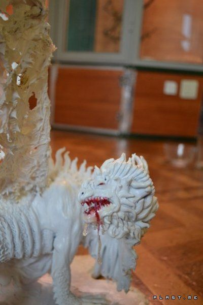 ящер альбинос