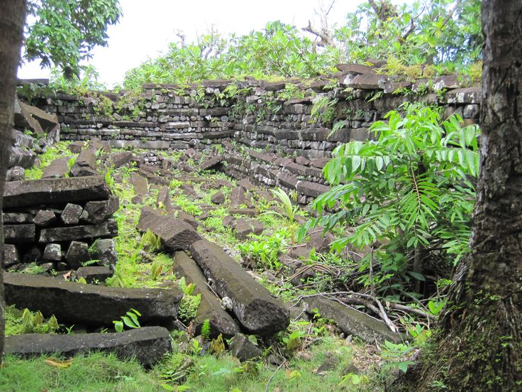 Nan Madol, Pohnpei, Federated States of Micronesia.