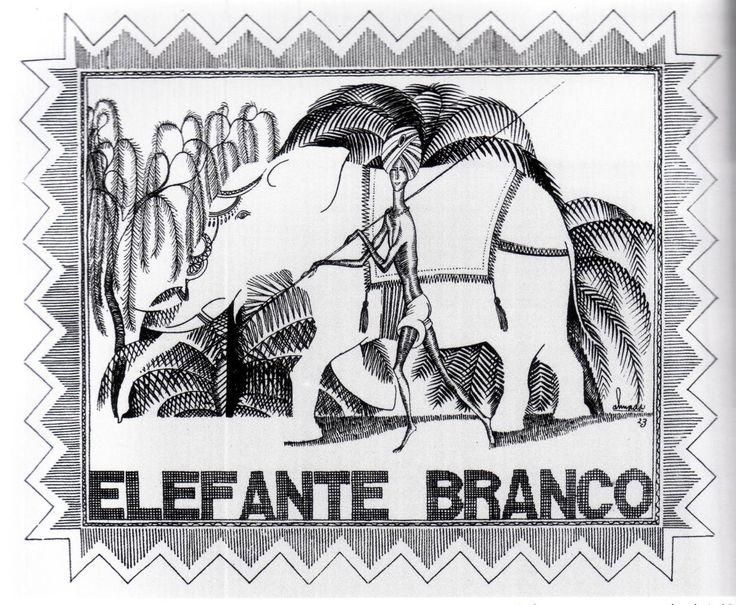 Elefante Branco por Almada Negreiros