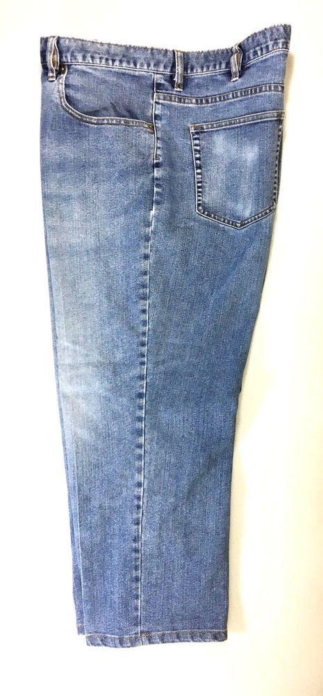 JOS A BANK Mens Straight Cut Jeans Size 42X29 (tag) / Cotton Blend Denim Pants  #JosABank #ClassicStraightLeg