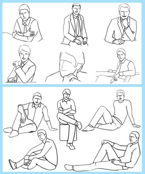 Men's poses