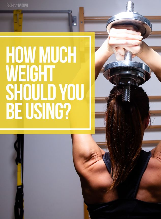 Weight training: Your guide to selecting the right amount of weight and reps for your fitness goals!