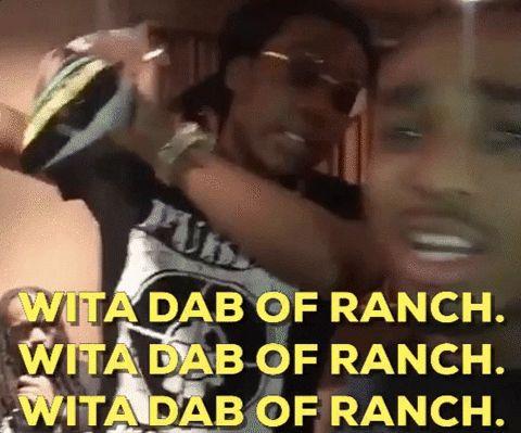 dab migos quavo dab of ranch the migos #humor #hilarious #funny #lol #rofl #lmao #memes #cute