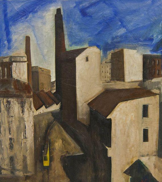 Mario Sironi - Paesaggio urbano