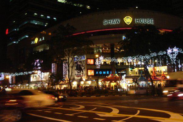 Merlion, Singapore by Night