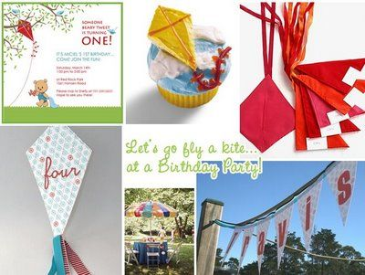 Kite birthday party idea