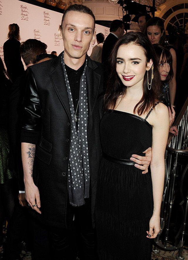 The British Fashion Awards 2012 - リリー・コリンズ&ジェイミー・キャンベル・バウワー