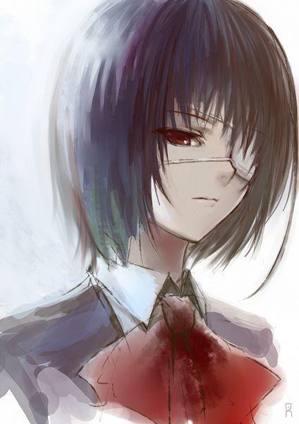Sad Anime   Mei Misaki