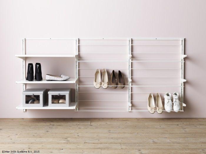 Ești gata de plecare mai repede atunci când ai încălțămintea la îndemână. www.IKEA.ro/sina_ALGOT