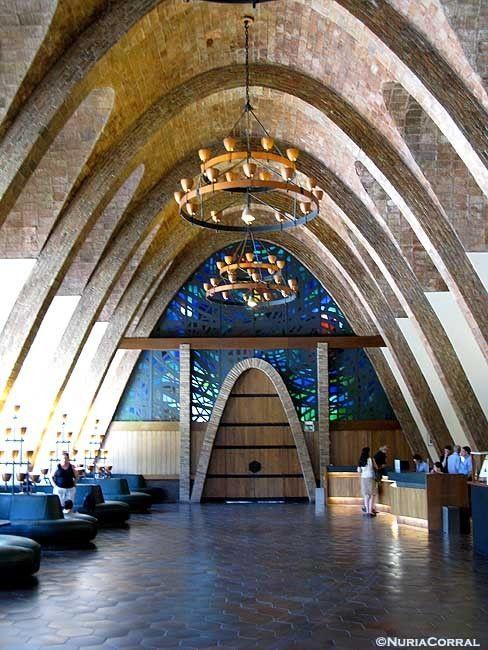 Caves  Codorniu (Modernisme)   Penedès Catalonia