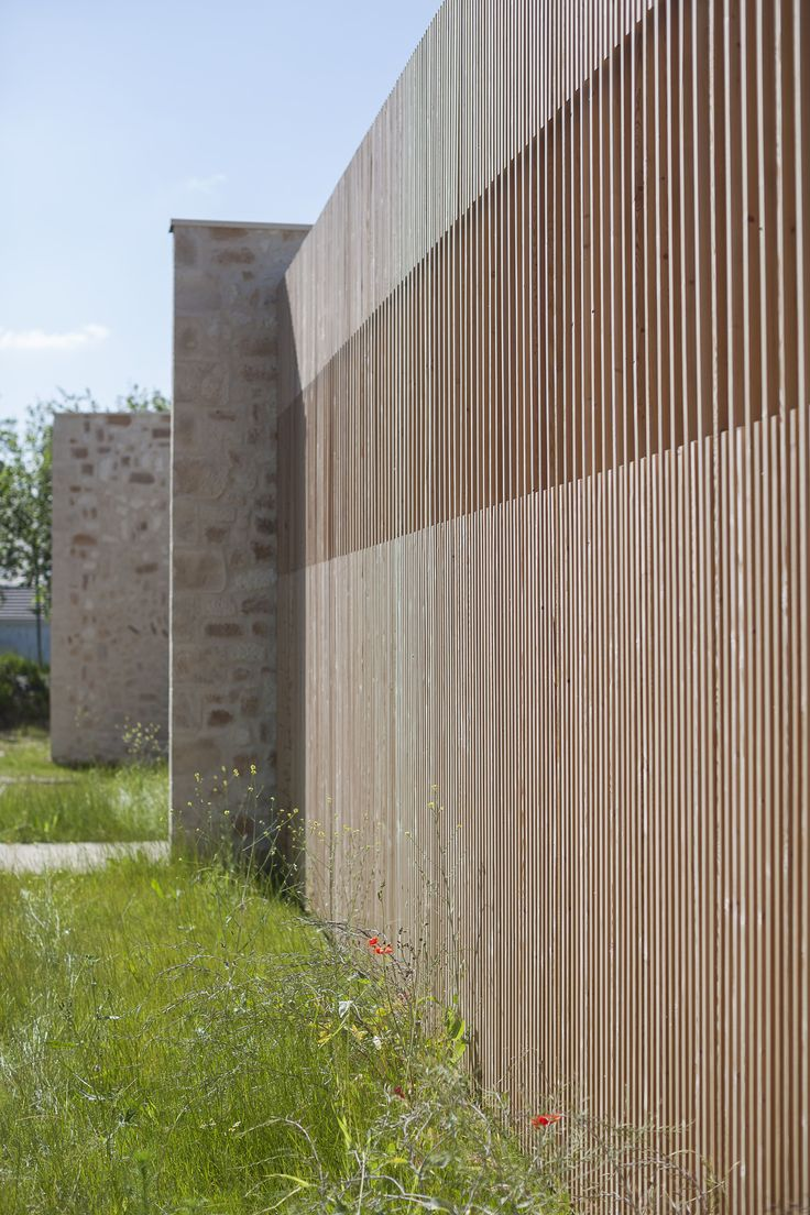 149 best details screens images on pinterest facades - Wooden cladding for exterior walls ...
