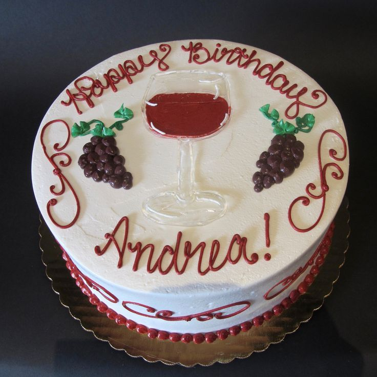 25+ Best Ideas About Wine Theme Cakes On Pinterest