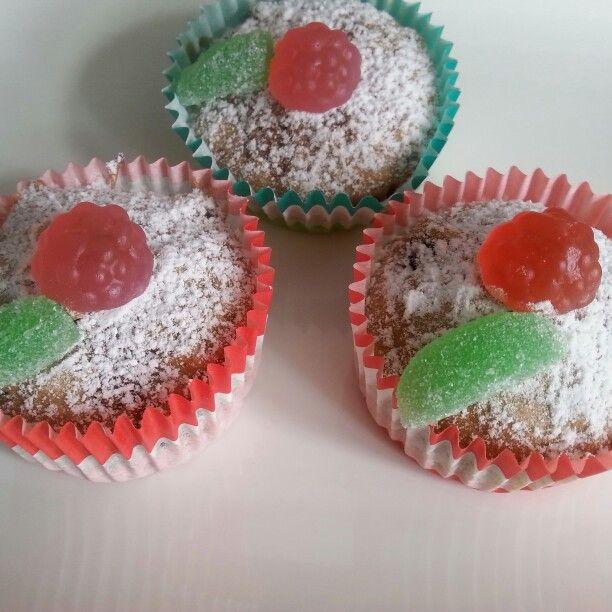 Christmas Pud Cupcakes