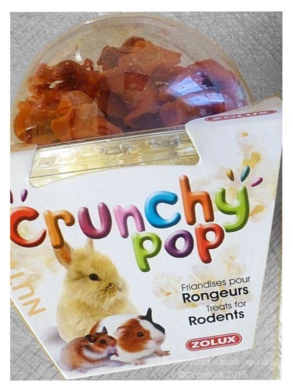 Crunchy Pop friandises pour rongeurs de Zolux