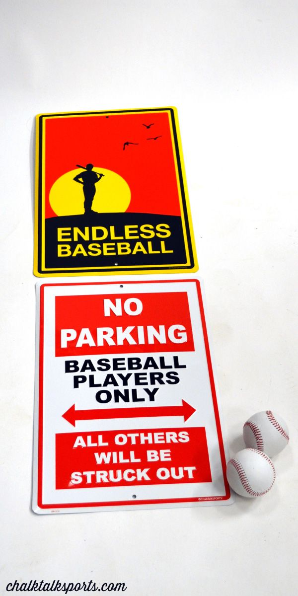 These Baseball Room Signs Would Make A Great Gift For Player To Add Some