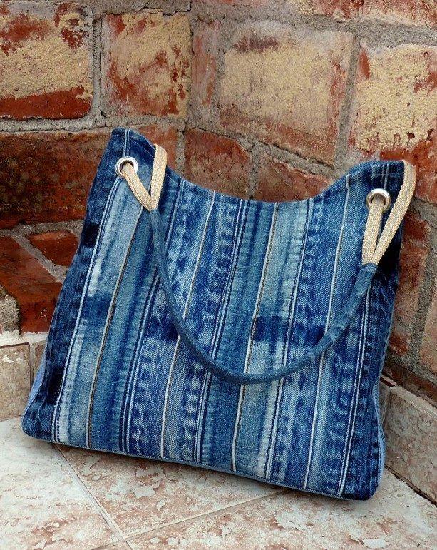 4a0707f1b9be Как сделать сумку из джинсов своими руками: выкройки, мастер-класс как сшить