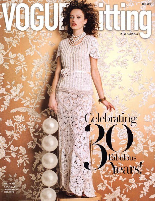 Vogue Knitting Fall 2012 - Monika Romanoff - Picasa Web Albums