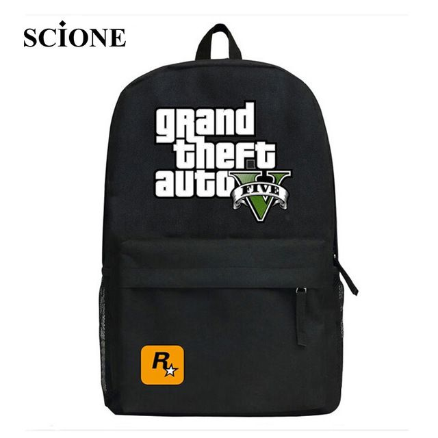 Buy now 2017 GTA5 / GTA PC Games Mochilas School Kids Backpack For Teenagers Bags Anime Bag Mochila Surrounding Infantil Japan Animation just only $18.69 - 22.09 with free shipping worldwide  #backpacksformen Plese click on picture to see our special price for you