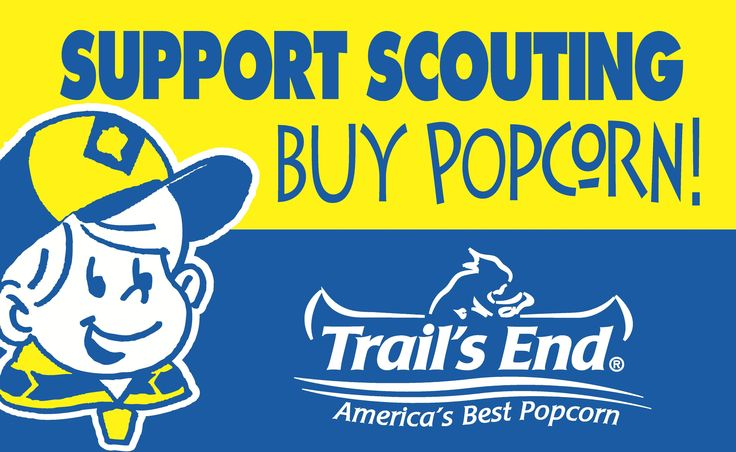 Trail's End Popcorn has made a lot of improvements this year. All microwave products are made with canola oil and all chocolate products contain no hydrogenated oils, so there are plenty of healthy, flavorful snacks to choose from. 70% of your purchase will be returned to my unit, my council and my Scout rewards. Online purchases help us fund fun, educational activities and help more kids experience all the things that make Scouting great.