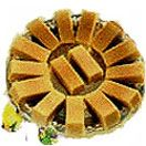 Ananda bhawan mysore pak available for Hyderabad delivery. Same day gifts delivery to all location in Hyderabad without any delivery charges.  Visit our site : www.flowersgiftshyderabad.com/Christmas-Gifts-to-Hyderabad.php