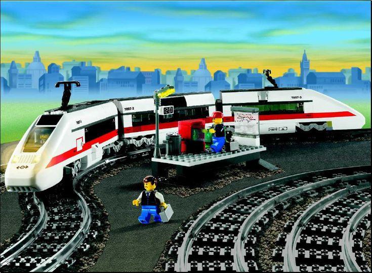 City - Passenger Train [Lego 7897]