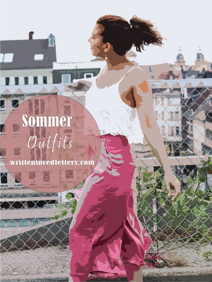 Sommerliche Outfits: Sommerlooks vom Fashionblog Written In Red Letters und anderen Modeblogs